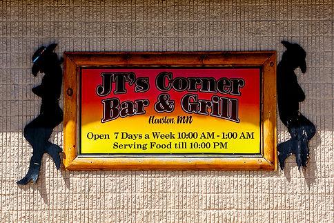 JT's Corner Bar & Grill Sign