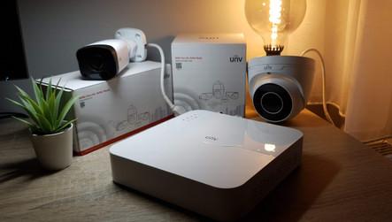 Uniview kamerák és rögzítő