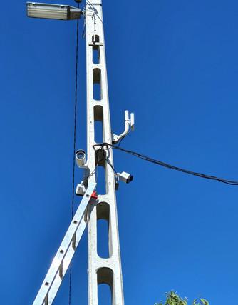 Nagytarcsa Ipari Park - Térfigyelő kamera