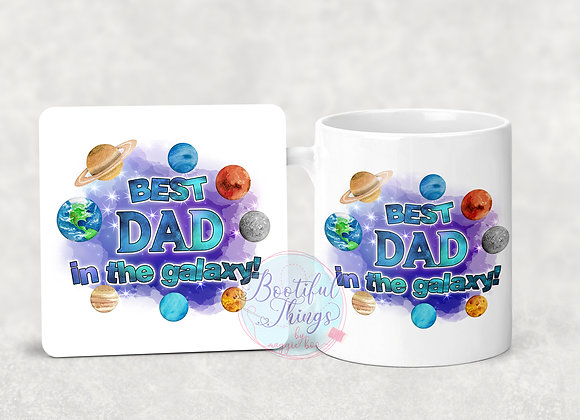 Best Dad in The Galaxy! Set