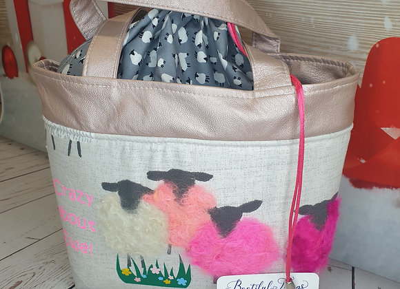 Crazy about Ewe - Pearlescent Pink