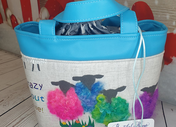 Crazy about Ewe - Turquoise