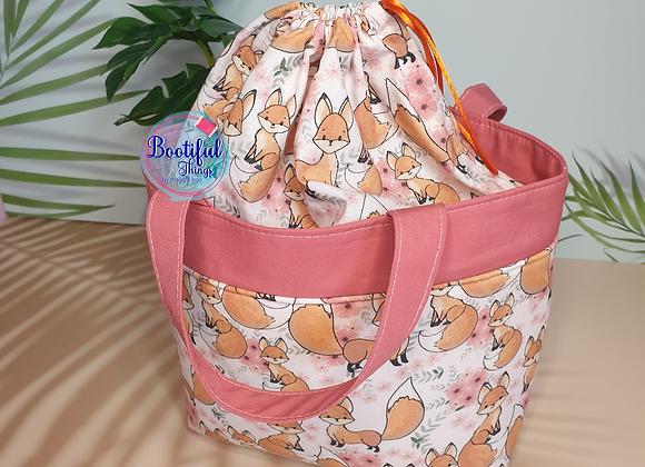 Foxy with Peach