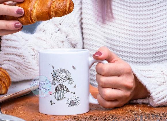 Knitting  - Unravelled Mug