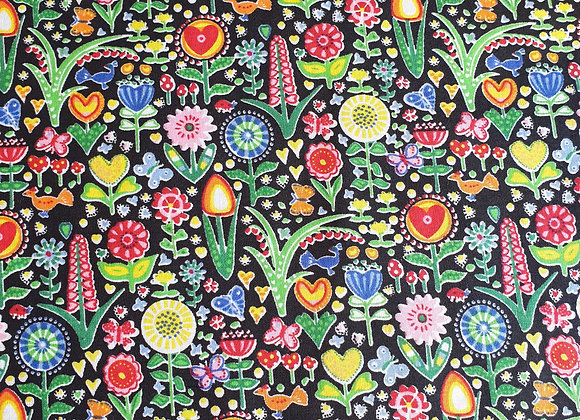 Bright Busy Floral