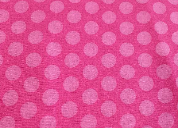 Large Pink Polka