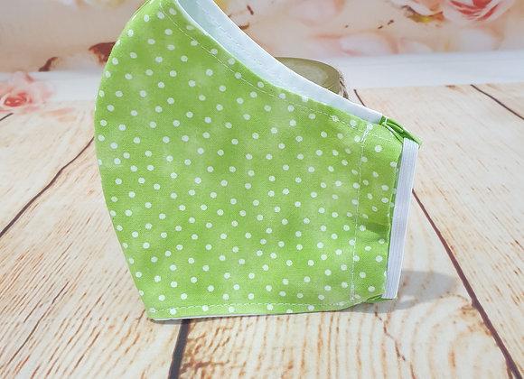 Lime Green Polka Dot