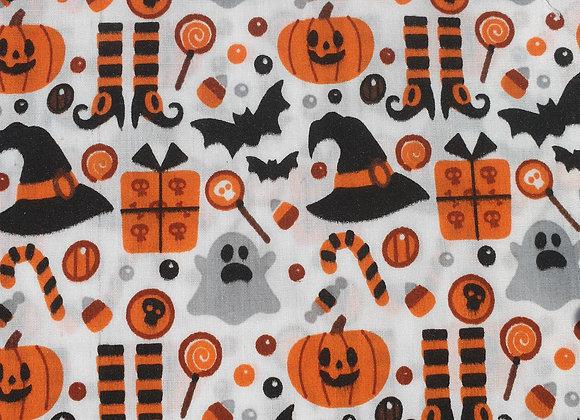 Halloween Ghouls White