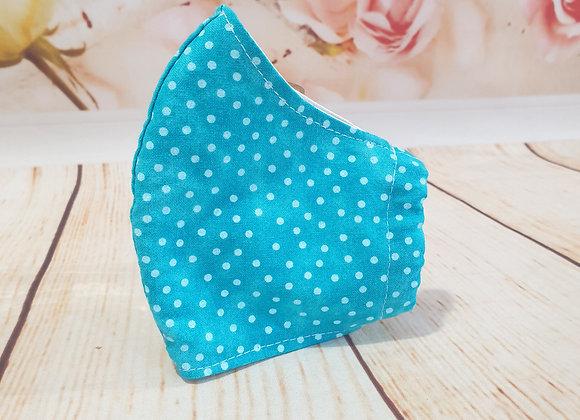 Turquoise Polka Dot
