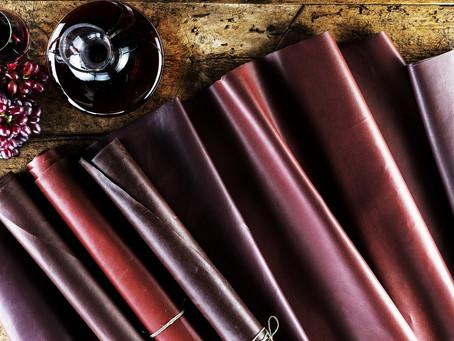 Couro ecológico a partir de resíduos da produção do vinho é desenvolvido na Itália