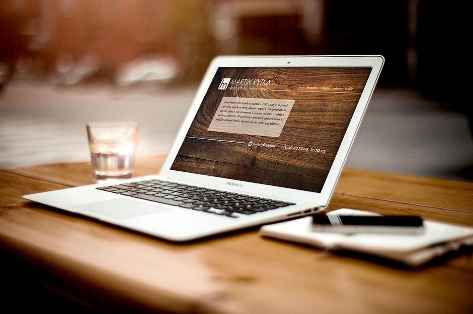 webové stránky - nábytek