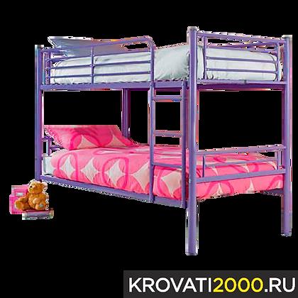 """Детская двухъярусная кровать """"Мишка"""""""