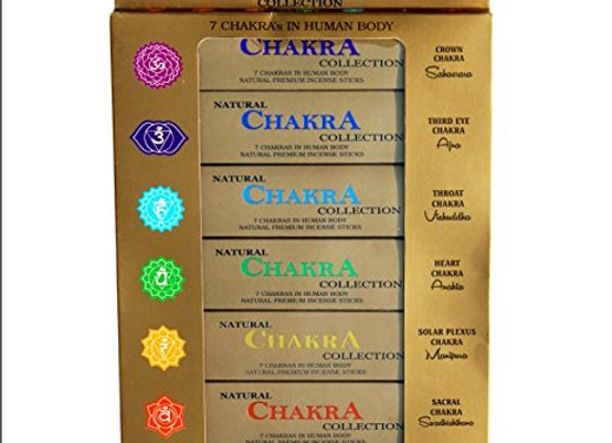 NATURAL CHAKRA INCENSE SMALL GIFT PACK / FLOWERS AND EDIBLES