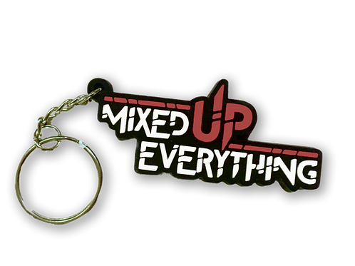 Mixed Up Everything Keychain