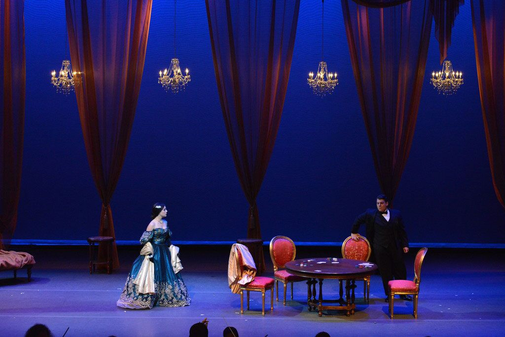 Production of Traviata by LIO director A