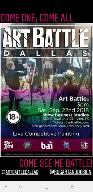 Art Battle Dallas!