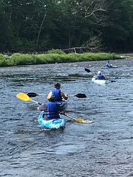 Kayaking the Pemigewasset Rive