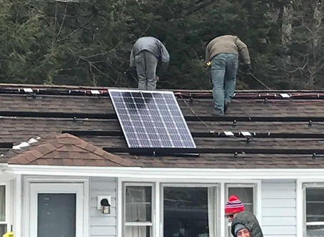 Solar Install Complete - Day 2