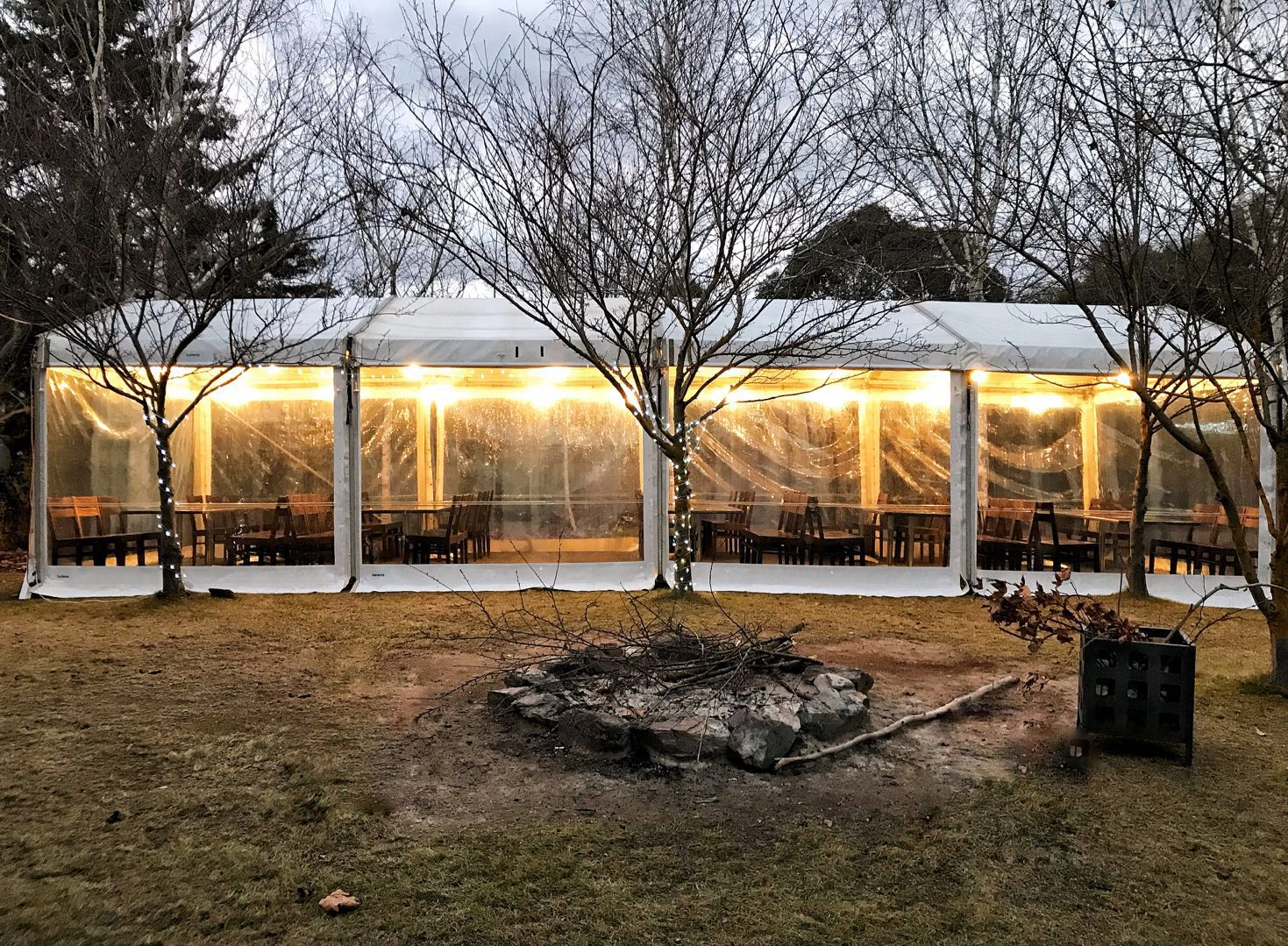 Winter Marquee Redbrow Wedding