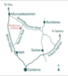 Redbrow Garden Map