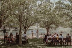Lakeside Ceremony Redbrow Wedding