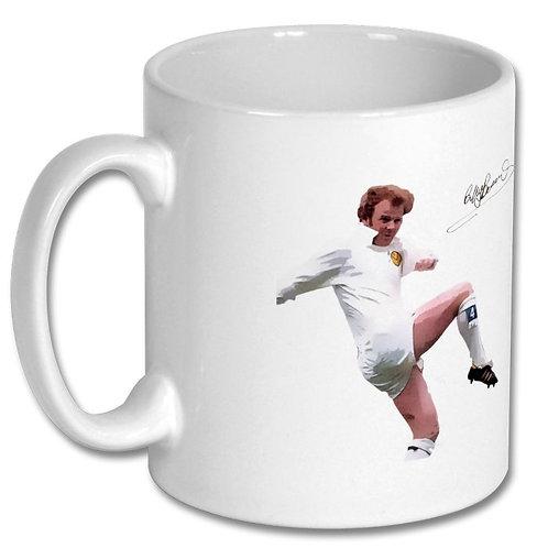 Billy Bremner Leeds United 10oz Mug