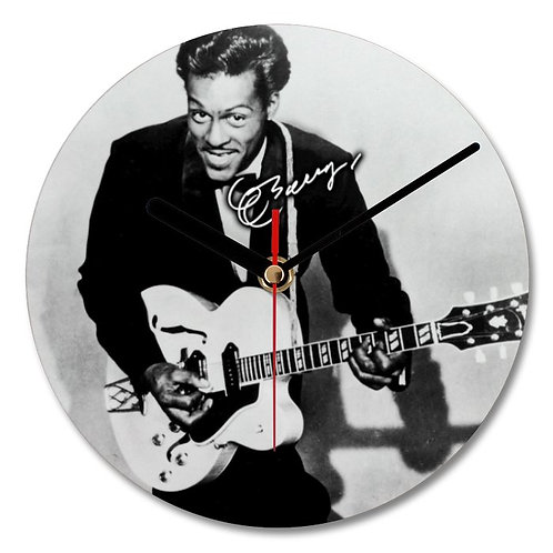 Chuck Berry Autographed Wall Clock
