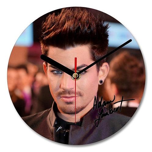 Adam Lambert Queen Autographed Wall Clock