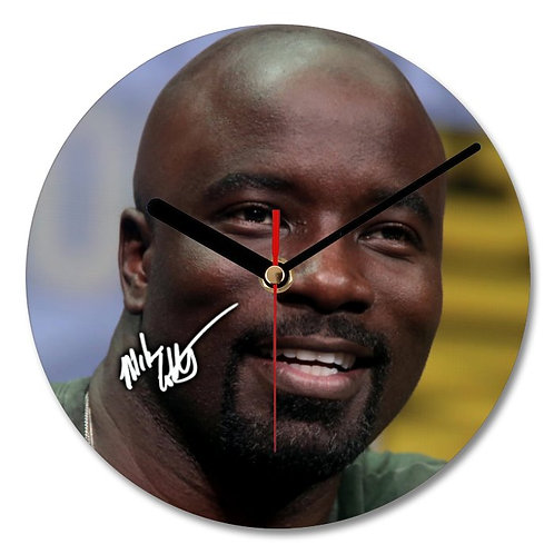 Mike Colter - Luke Cage Autographed Wall Clock