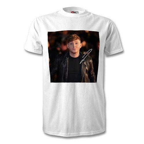 James Arthur Autographed Mens Fashion T-Shirt