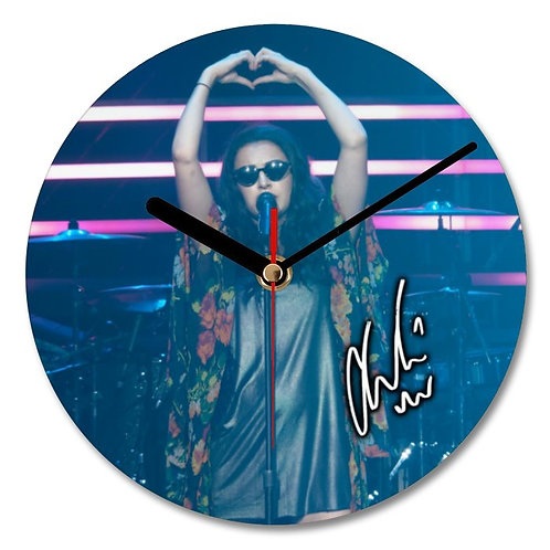 Charli XCX Autographed Wall Clock