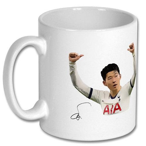 Son Heung min Tottenham Hotspur 10oz Mug