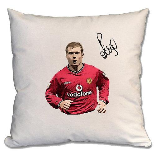 Paul Scholes Manchester United Large Cushion
