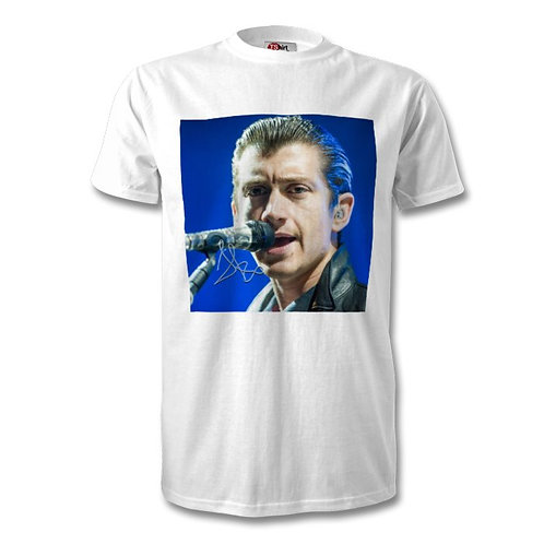Alex Turner Arctic Monkeys Autographed Mens Fashion T-Shirt