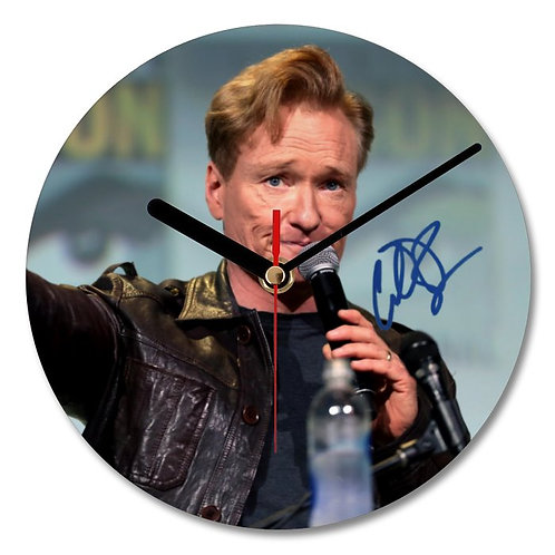 Conan O'Brien Autographed Wall Clock