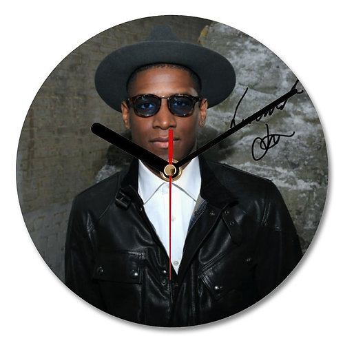 Labrinth Autographed Wall Clock