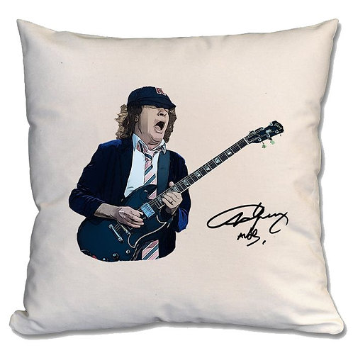 AC/DC Angus Young Large Cushion