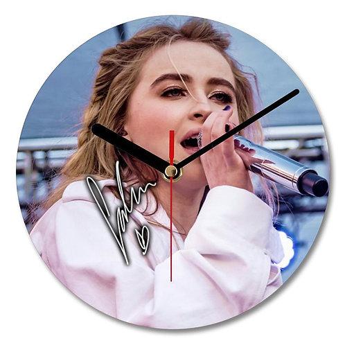 Sabrina Carpenter - Girl Meets World Autographed Wall Clock