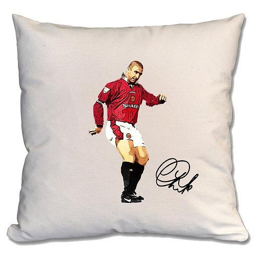 Eric Cantona Manchester United Large Cushion