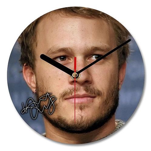 Heath Ledger - The Joker Autographed Wall Clock