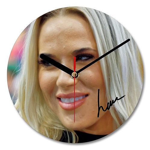 Lana - WWE Wrestler Autographed Wall Clock