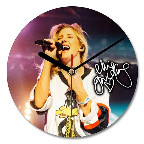 Ellie Goulding Autographed Wall Clock
