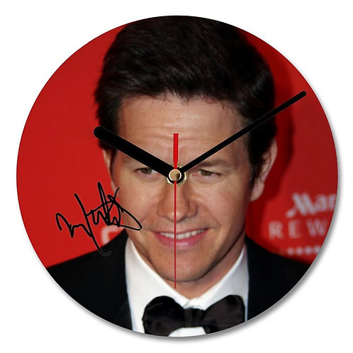 Mark Wahlberg Autographed Wall Clock