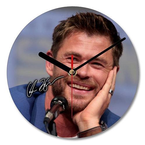 Chris Hemsworth - Thor Autographed Wall Clock