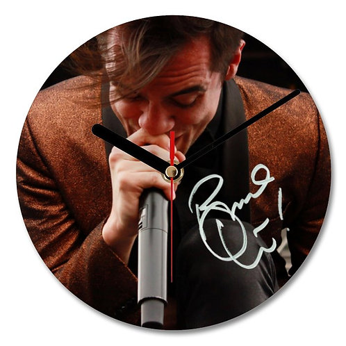 Brendon Urie - Panic at the Disco Autographed Wall Clock