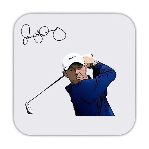 Rory Mcilroy Golf Drinks Coaster 9 x 9cm