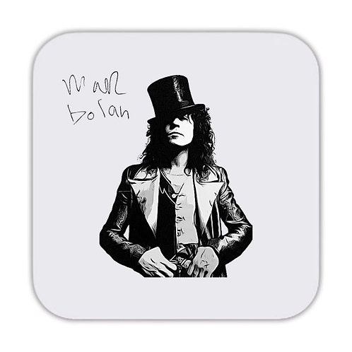 Marc Bolan T-Rex Drinks Coaster 9 x 9cm