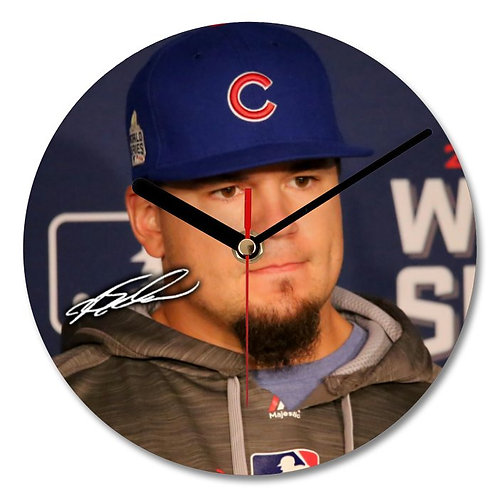 Kyle Schwarber - Chicago Cubs - MLB Autographed Wall Clock