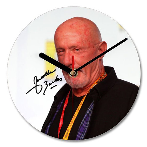 Jonathan Banks - Mike Ehrmantraut - Breaking Bad Autographed Wall Clock