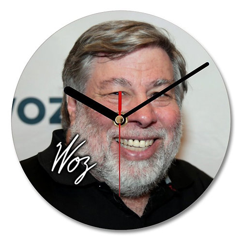 Steve Wozniak Autographed Wall Clock
